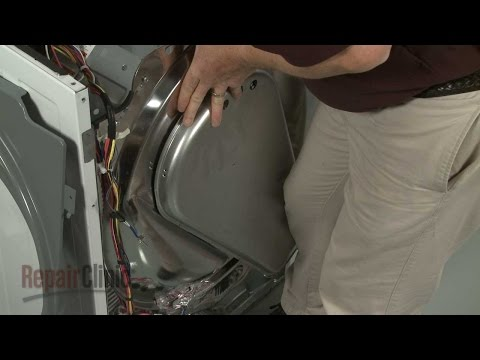 Rear Heat Duct - Electrolux Electric Dryer
