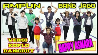 Download Mp3 Ampun Bang Jago Versi Dangdut Koplo - Happy Asmara X Tian Storm X Ever Slkr - Go