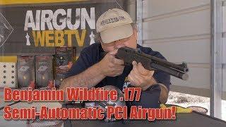 Benjamin Wildfire Semi Auto PCP 177 Airgun Airgun Review by Rick Eutsler AirgunWeb