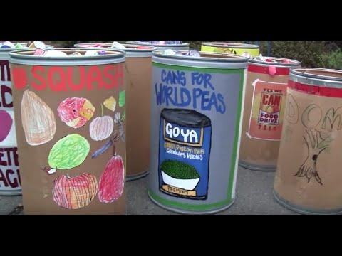 Gavin Newsom In Support of San Domenico School Food Drive