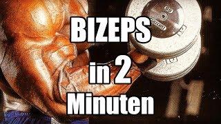 Bizeps in 2 Minuten!