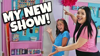 I HAVE A NEW SHOW!!! JILLIAN'S MYSTERY CRAFT BOX with Karina Garcia! BTS