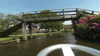 Giethoorn Bootsfahrt Timelapse Teil 1