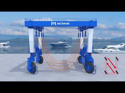 AICRANE Marine Travel Lift for Sale