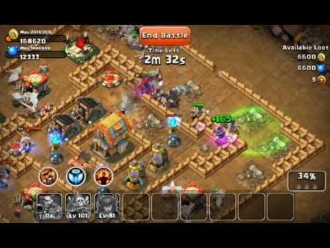 Castle Clash Spirit Mage Succubus Duo D4 2nd Base