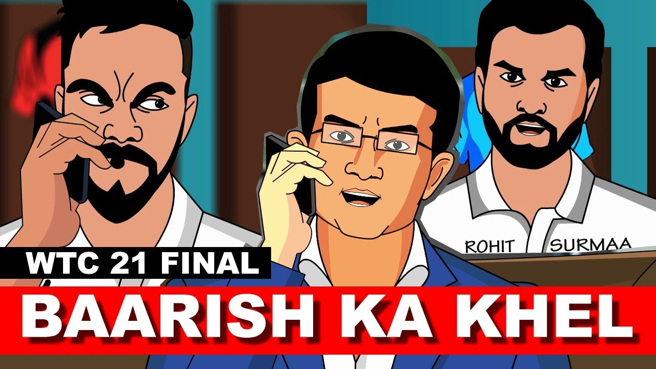 WTC-21 Final #INDvsNZ Baarish Ka Khel