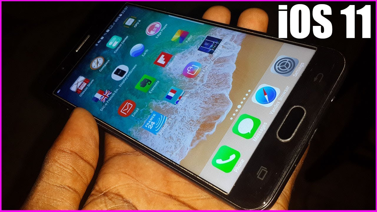 How to install iOS 11 on J7 PRIME and Any DEVICES / TEST