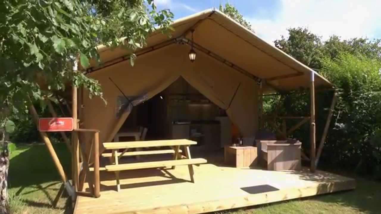 Safari tent review youtube for Tent a house