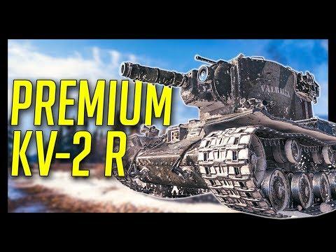 ► PREMIUM KV-2 (R) Valhallan Ragnarok - World of Tanks KV-2 (R) Gameplay, Warhammer 40,000 Edition
