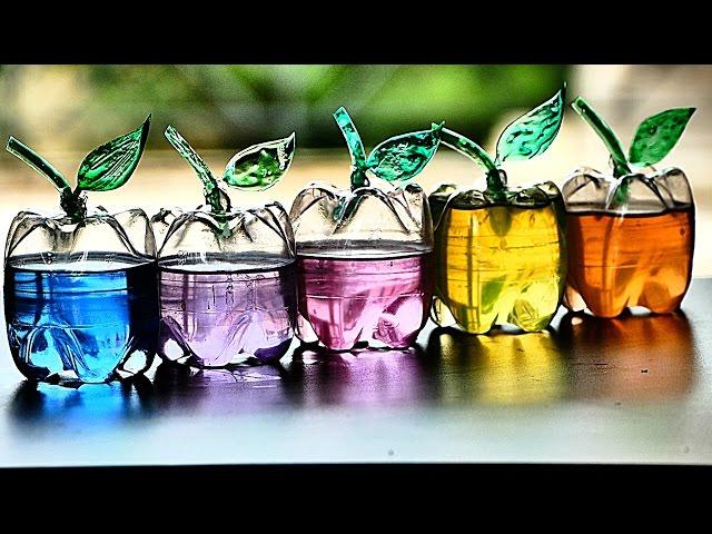 Cara Membuat Vas Bunga Dari Botol Plastik Bekas U Kreatif