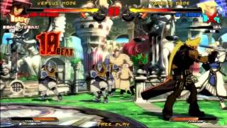 2015/2/21 GGXrd Mikado 3on3 Part 1
