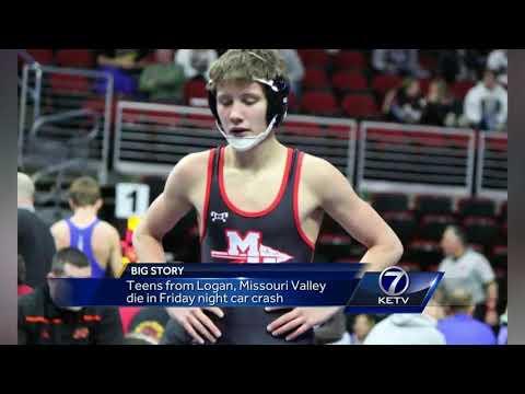 Logan, Missouri Valley teens die in Friday night crash