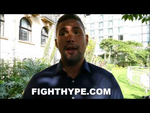 """TONY BELLEW INSISTS ANTHONY JOSHUA IS MAYWEATHER'S REPLACEMENT; CALLS HIM """"MIKE TYSON WITH A SMILE"""""""