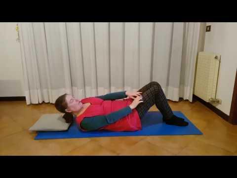 Esercizi per lombalgia#8 - YouTube