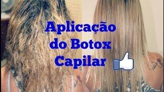 Aplicação de Botox Capilar em casa! ♥