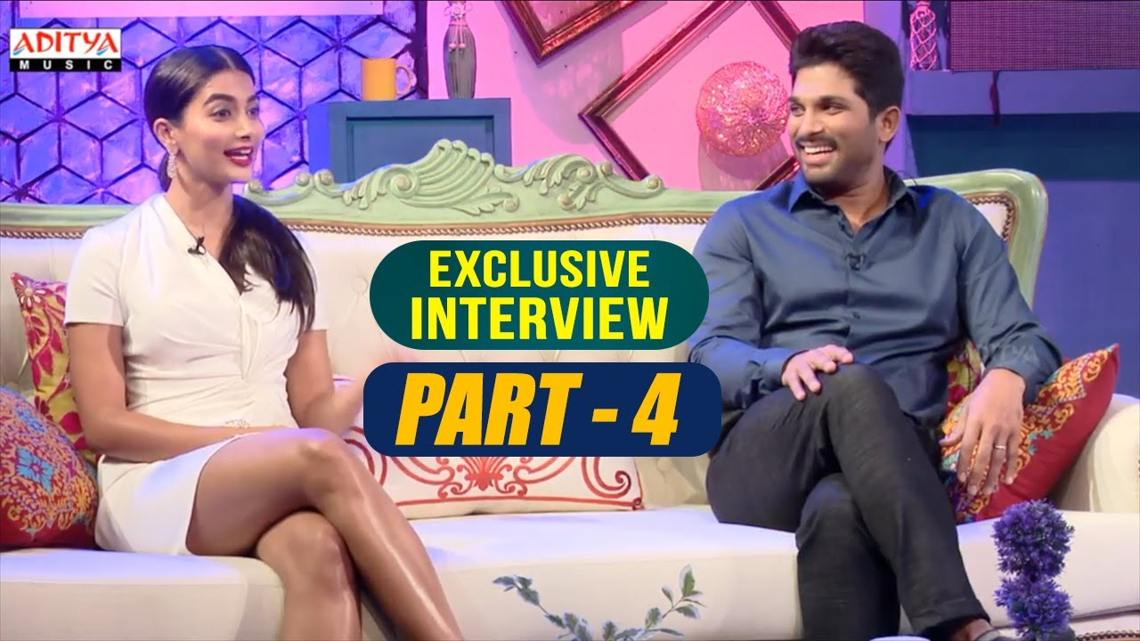 Exclusive Interview With Allu Arjun & Pooja Hegde | Part ...