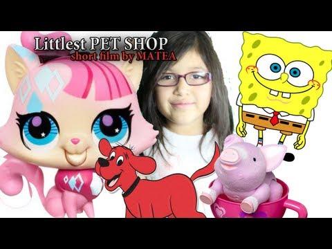 Littlest Pet Shop - Sponge Bob, Clifford, Tea Cup ...