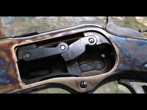 Inside the Uberti Winchester 1873 lever gun
