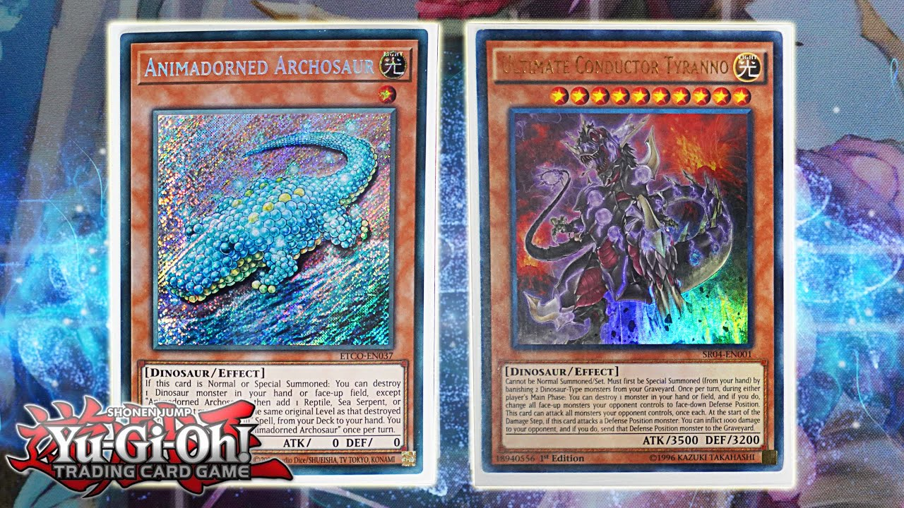 Yu Gi Oh The Best New Dinosaur Deck Profile New Combos May 2020 Format Post Eternity Code Youtube