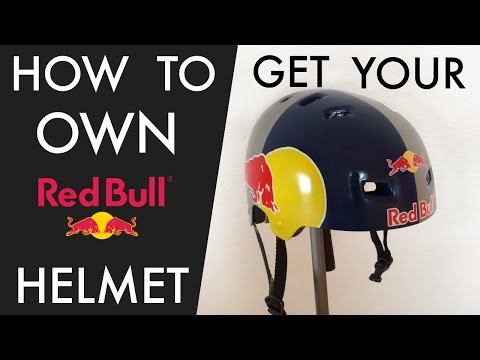 How to get your own RED BULL Helmet