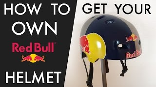 Ski Helmet - How to get your own RED BULL Helmet