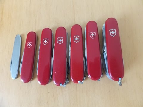 Vintage Victorinox Swiss Army Knife Discontinued Models