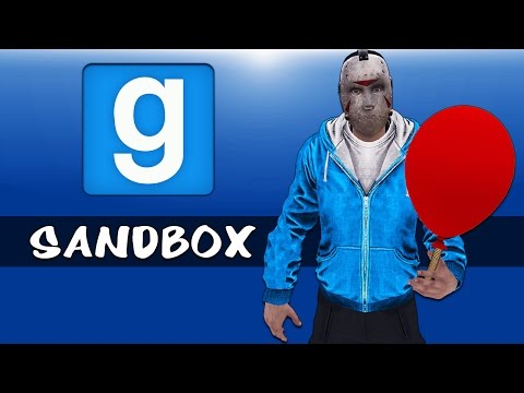 Gmod Ep. 37 Sandbox - Balloon fun!!! Fan-fiction! Epic Race! (Garrys Mod Funny Moments)