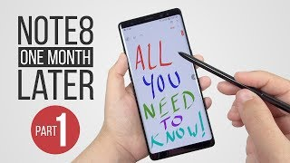 Note 8 Review: 1 Month Later