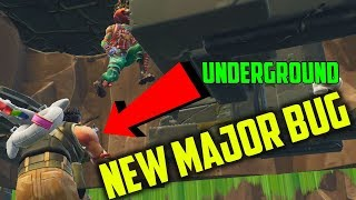 NEW UNDERGROUND EXPLOIT/BUG/GLITCH in Fortnite (Tomato Temple)