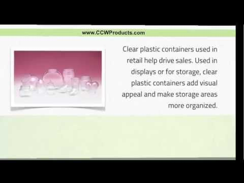 Drive Retail Sales with Clear Plastic Containers - Retail Clear Plastic Containers - (303) 427-9663