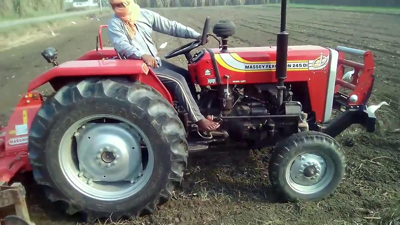 Massey Ferguson 245 DI tractor price in india specification