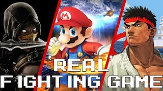 "Is Super Smash Bros. a ""Real"" (Competitive) Fighting Game?"