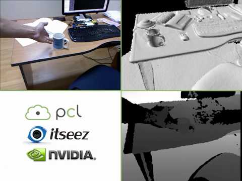 Open Source Kinect Fusion - Instant Interactive 3D Models
