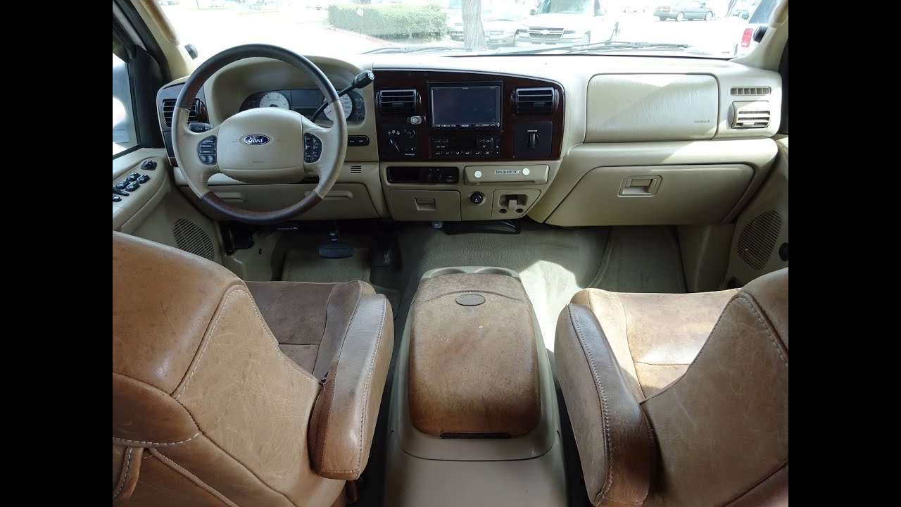 2005 Ford F150 King Ranch Interior