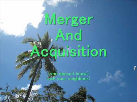 Merger And Acquisition  (Karaoke) written by KIT