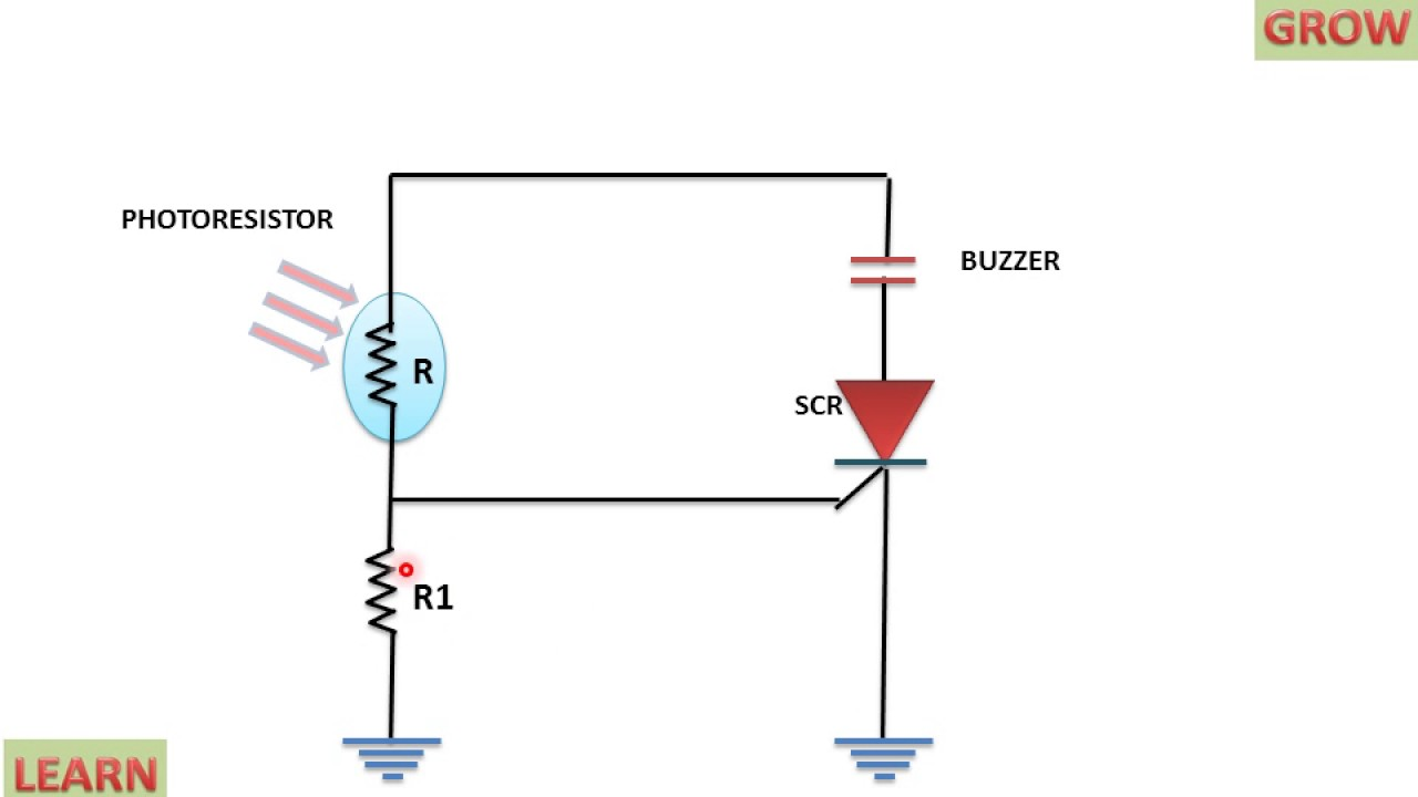 OVER LIGHT DETECTOR USING SCR ! LEARN AND GROW - YouTube