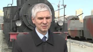 Паровоз серии ОВ в Музее военной техники УГМК
