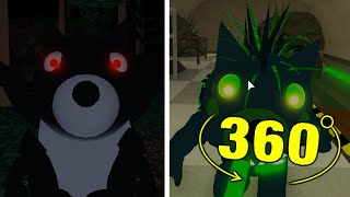 ROBLOX PIGGY DOGGYS FUNERAL ALL JUMPSCARES 360