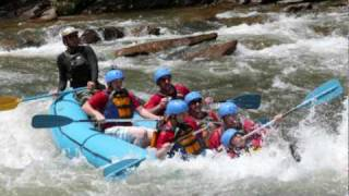 whitewater rafting, ocoee river tennessee 2010