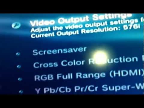 ps3 video output settings 1080p wallpapers