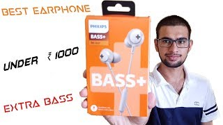 Video Unboxing and Review of PHILIPS SHE4305 earphones BASS+ [best under ₹1000] download MP3, 3GP, MP4, WEBM, AVI, FLV Juni 2018