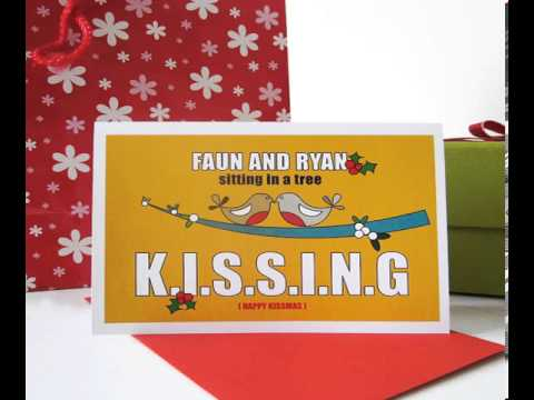romantic christmas cards