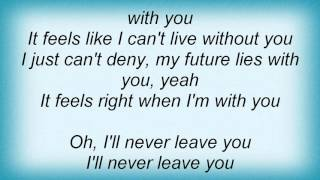 Lemar - Feels Right Lyrics