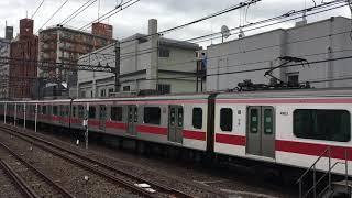 【とうきゅうせん、ひびやせん】東急東横線 5050系、東京メトロ日比谷線 13000系@中目黒駅