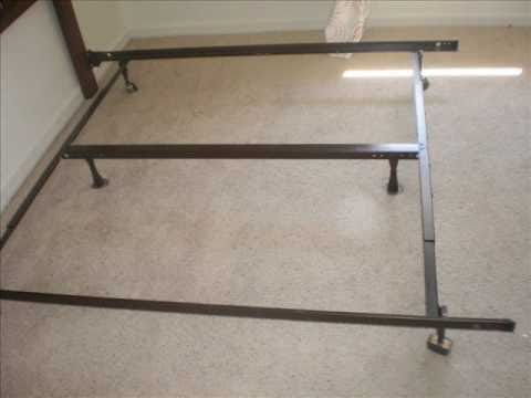 Old Bed Frame Assembly