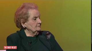 Albright: Obama Would Have to Be Jesus