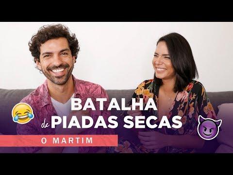 Batalha de PIADAS SECAS c/ o MARTIM | E Agora? | Olivia Ortiz