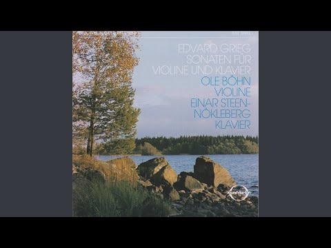 Violin Sonata No. 2 in G Major, Op. 13: II. Allegretto tranquillo