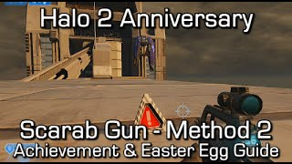Halo 2 Anniversary - Scarab Gun Method 2 (Sputnik/Rocket) - Scarab Lord Achievement & Easter Egg