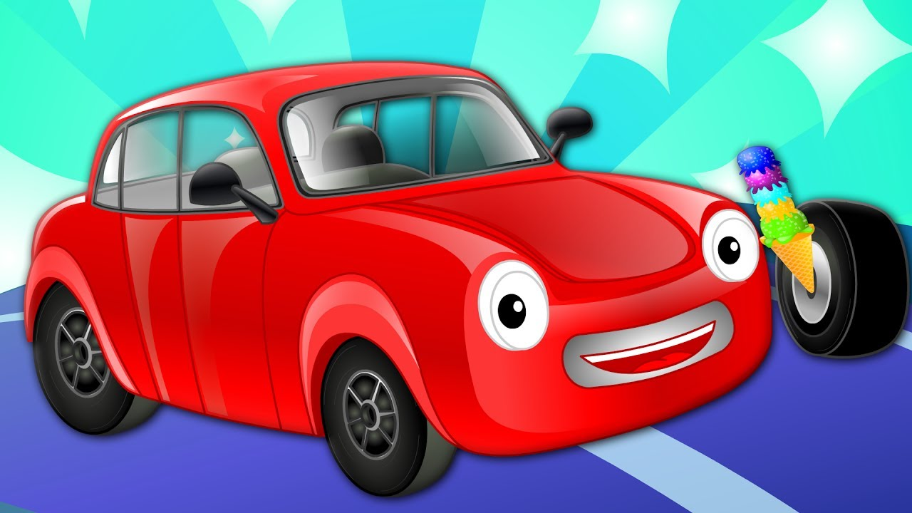 What Rhymes With Car >> Motor Car | Vehicle Rhymes | Nursery Rhymes For Kids - YouTube